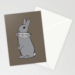 Frilly Rabbit Stationery Cards