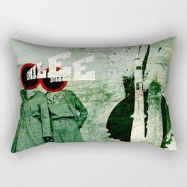 Smile and Enjoy Your Flight Rectangular Pillow