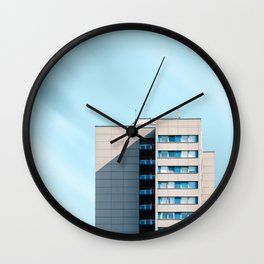 Minimalist architecture in Berlin Wall Clock