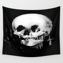 All Is Vanity: Halloween Life, Death, and Existence Wall Tapestry