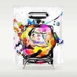Parfum Rainbow Shower Curtain