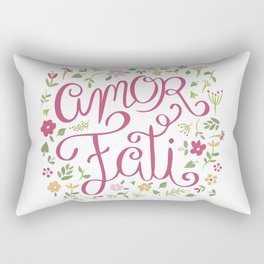 Amor Fati - Love of Fate Rectangular Pillow