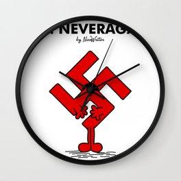 Mr Neveragain Wall Clock