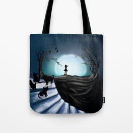 My Part to the Longest Illustration. Tote Bag
