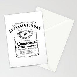 Lorelai Gilmore whiskey Stationery Cards