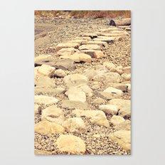 broken road Canvas Print