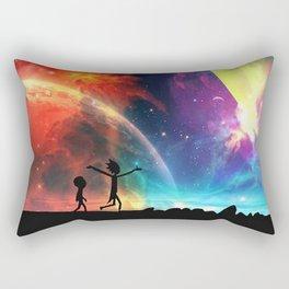Rick And Morti Nebula Rectangular Pillow
