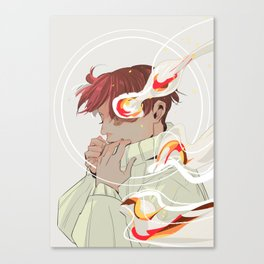 A Calm Flame Canvas Print