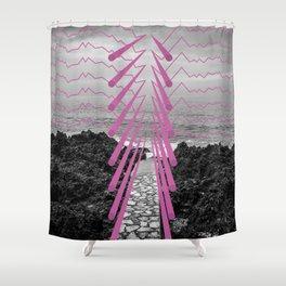 Surreal Beachscape Shower Curtain