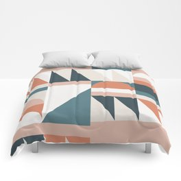 Cirque 06 Abstract Geometric Comforters