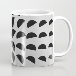 Half Moon Pattern Coffee Mug