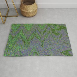GORIAN MOSS GROWING ON FALIS THREE ON A CLOUDY DAY Rug