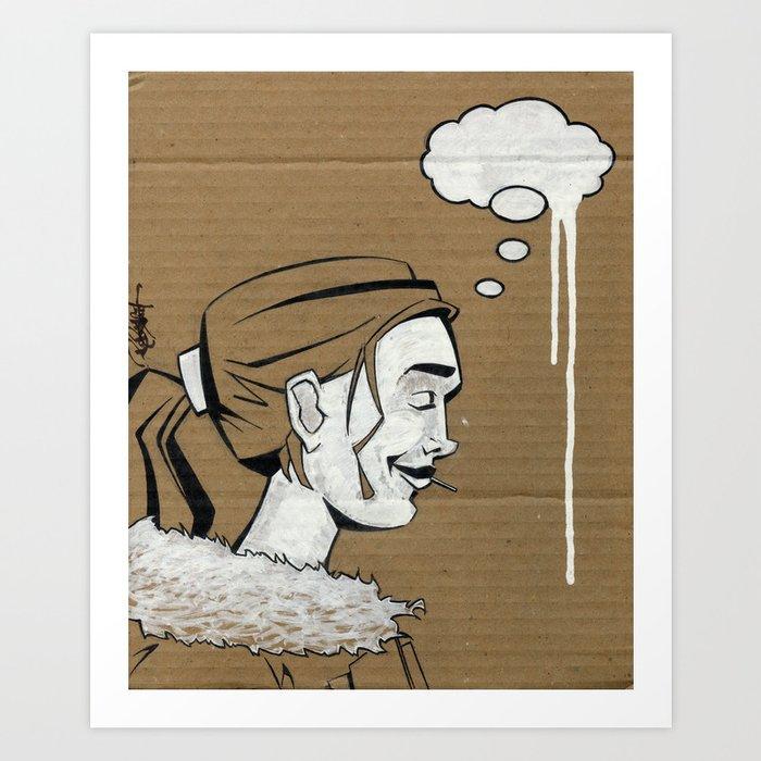 Thoughtless Art Print