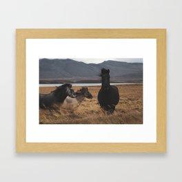 Iceland Beauty Framed Art Print