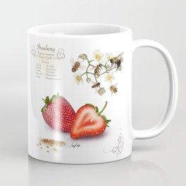 Strawberry and Pollinators Coffee Mug