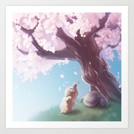 One Fine Spring Afternoon 2 Art Print