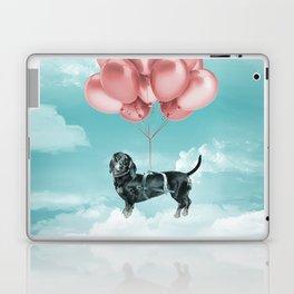 Dachshund Drift Laptop & iPad Skin