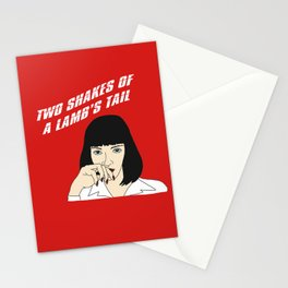Mia Wallace Powders Her Nose Stationery Cards