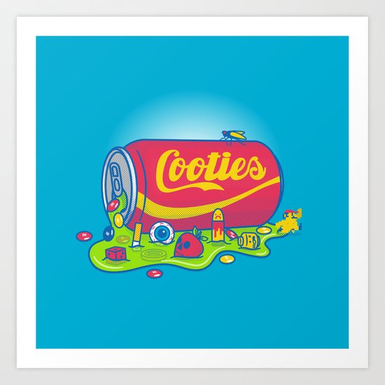 The World has Cooties Art Print