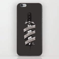 Blood, Sweat and Tears iPhone & iPod Skin