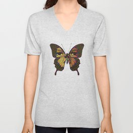 Butterfly Variation 03 Unisex V-Neck