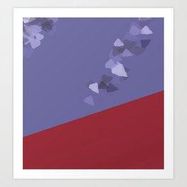 wind, always and never enough Art Print
