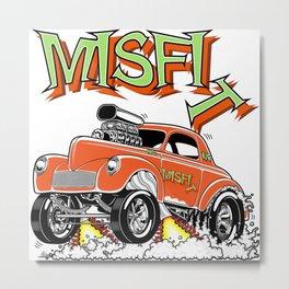 MISFIT rev 1 Metal Print