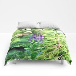 Pretty Purple Flower Comforters