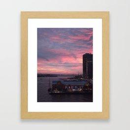 Pier 17 Framed Art Print