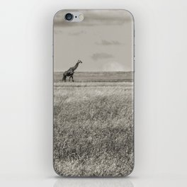 Lonely Giraffe iPhone Skin