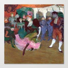 Henri de Toulouse-Lautrec Marcelle Lender Dancing the Bolero in Chilpéric Canvas Print
