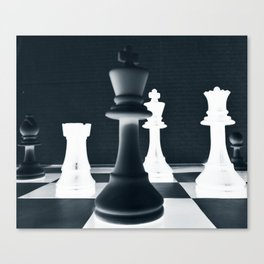 Chess Master Canvas Print