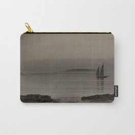 Fog, boat, ocean Carry-All Pouch