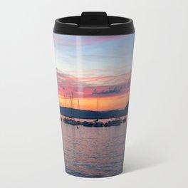 Sunset Lake Annecy Travel Mug