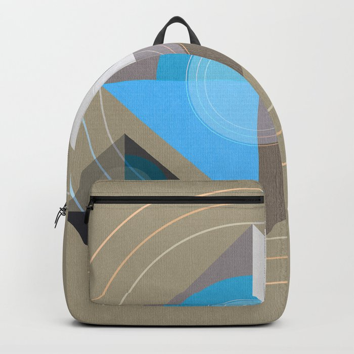Minimalism / Geometric 4 Backpack