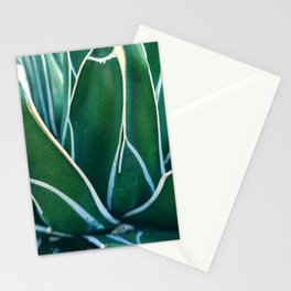 Green Agave | Tropical nature photography Stationery Cards