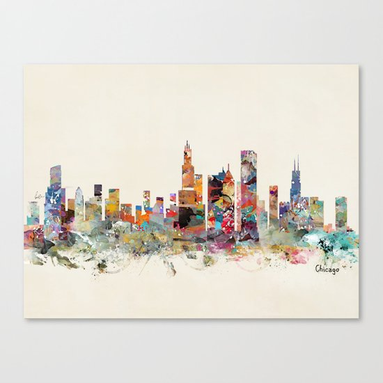 Chicago city  Canvas Print