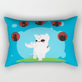 Chibiterasu Rectangular Pillow