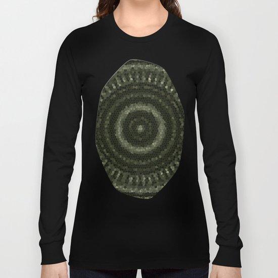 Fractal Kaleido Study 005 in CMR Long Sleeve T-shirt
