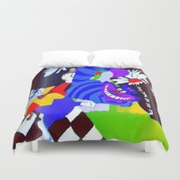 alice wonderland Duvet Covers featuring Wonderland  by Zero Two Thirteen