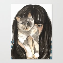Patislene Canvas Print