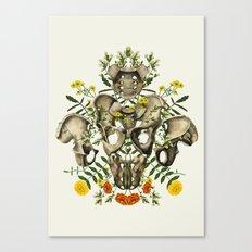 Love Your Bones Canvas Print