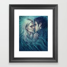 A One-Time Thing Framed Art Print