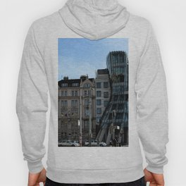 The Dancing House in Prague by Frank Grehry Hoody