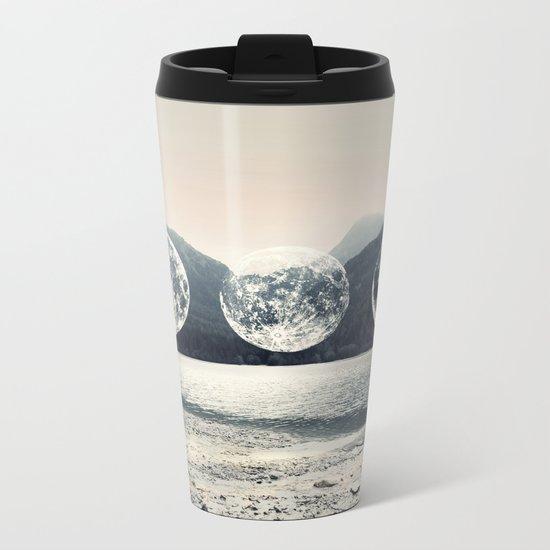 Moonlight Mountains Metal Travel Mug