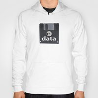 data Hoodies featuring data  by dogbauu