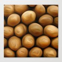potato Canvas Prints featuring Potato Potato by MeatSteed