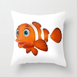 Nemo Throw Pillow