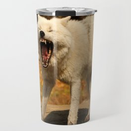 I'll huff and I'll puff and I'll blow your house down Travel Mug