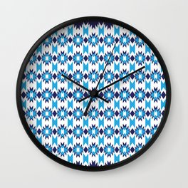 Woven Pattern 4.0 Wall Clock